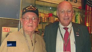 WWII Veteran sells car to General Patton's Grandson - Video