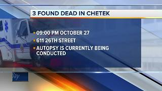 Three people found dead in Chetek home - Video