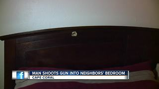 Gun target practice in apartment leads to arrest in Cape Coral - Video
