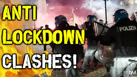 Anti-Lockdown CLASHES In Europe! - MASS Protests SHAKE European Cities As LOCKDOWN 2.0 BEGINS!