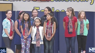 Area schools honor veterans - Video