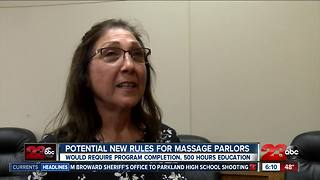 New ordinance for Bakersfield massage parlors - Video