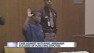 More charges expected after Nathaniel Abraham allegedly punched 3 deputies during arrest