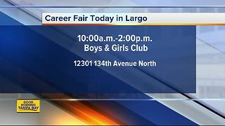 Career Fair today in Largo - Video