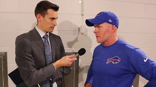 1-on-1 with Bills HC Sean McDermott after Jets loss