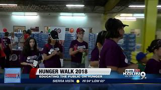 Community Food Bank of Southern Arizona prepares for 2018 Hunger Walk - Video