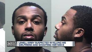 Detroit's Most Wanted: Lenell Kirby wanted for shooting & killing his girlfriend