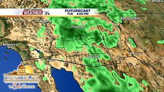 FORECAST: Strong t-storms possible this week