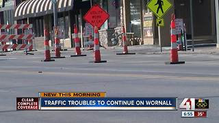 Even more construction to come for Wornall Road - Video