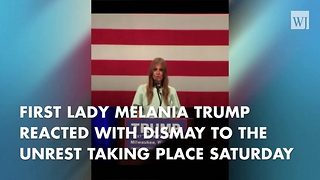 Melania Trump Speaks Out Against Violence - Video