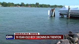 11-year-old boy drowns in Trenton - Video