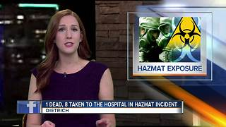 HazMat incident leaves Dietrich man dead - Video