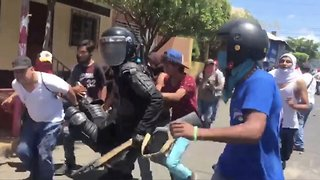 US Raises Nicaragua Threat Level As Violent Protests Continue