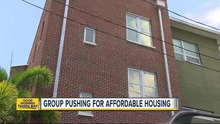 Group pushing for affordable housing in Pinellas County - Video