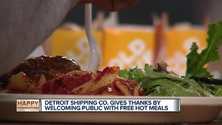 Detroit Shipping Company celebrates first Thanksgiving with meals for homeless