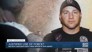 Mesa officers sued over 2018 arrest and beating