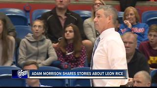Adam Morrison shares stories about Leon Rice