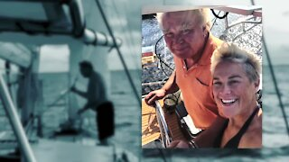 Couple shares story about being stranded at sea for 28 days