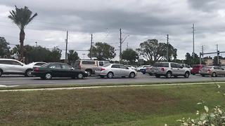 Traffic gridlock near Largo Mall frustrating drivers | Digital Short - Video