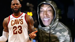 Scottie Pippen Says HE'S Better Than LeBron James - Video
