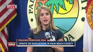 Palm Beach County shelter update - Video