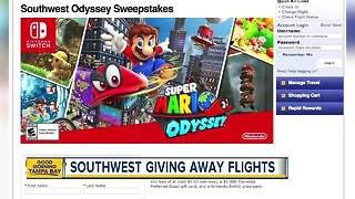 Southwest Airlines teams up with Nintendo for ultimate Nintendo Switch sweepstakes