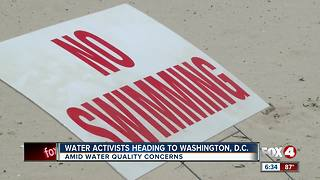 Local leaders, clean water activists headed to DC - Video