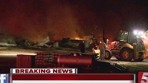 Fire Destroys GM Barn In Spring Hill
