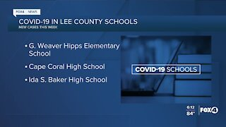 COVID-19 in Lee County Schools