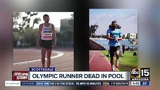Olympic runner found dead in Scottsdale pool - Video