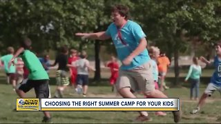 Choosing the right summer camp for your kids