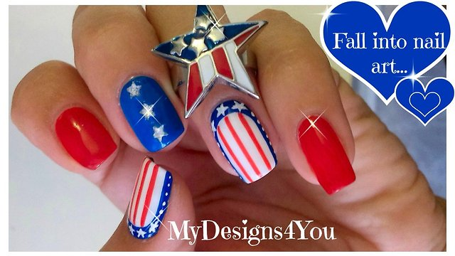 Mydesigns4yous videos 4th of july nail designs solutioingenieria Images