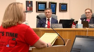 Parents fighting for teacher pay raises - Video