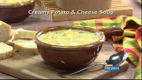 Mr. Food - Creamy Potato and Cheese Soup