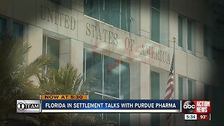 Florida negotiating settlement with Purdue Pharma over opioid crisis