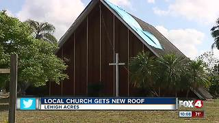 Local church gets free roof