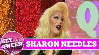 Sharon Needles on Hey Qween Season 4 Premiere with Jonny McGovern!!! - Video