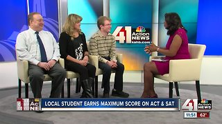 Local student earns perfect scores on ACT and SAT