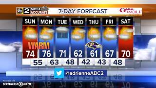 Maryland's Most Accurate Forecast - Sunny & Warm - Video