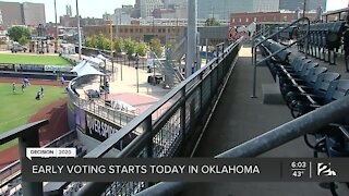 Early Voting Starts Today Across Oklahoma