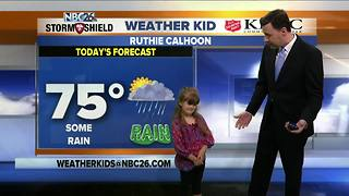 Meet Ruthie Calhoon, our NBC26 Weather Kid of the Week! - Video