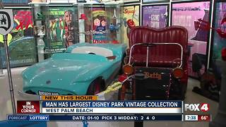 Florida man has world's largest Disney park prop collection - Video