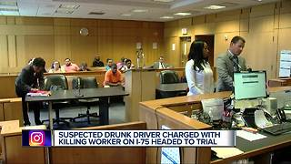 Detroit woman charged in I-75 crash that killed construction worker