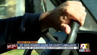 Dry Ridge plans change in EMS funding - Video
