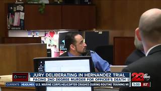Police death trial goes to jury