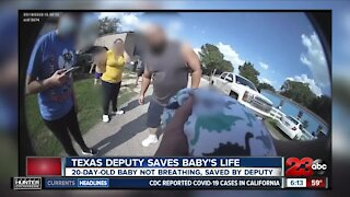 Check This Out: Deputy saves baby's life