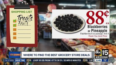 Some of the best deals at Valley grocers this week