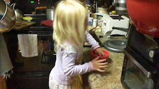 Baking Day with Daddy