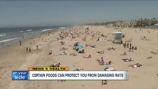 Certain foods can protect you from damaging sun - Video