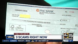 Three scams taking your money right now!